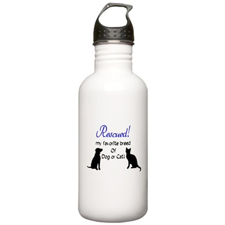 Rescued! Stainless Water Bottle 1.0L