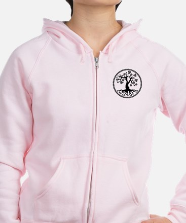 Tree of Life Zip Hoody