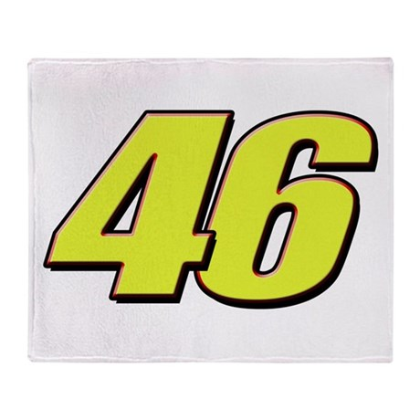 VR46Red2 Throw Blanket