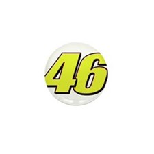 VR46Red2 Mini Button