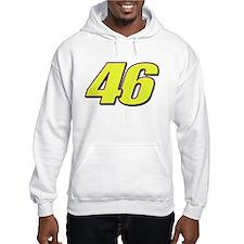 VR46Red2 Hoodie