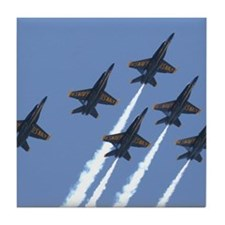 Blue Angels formation, Tile Coaster