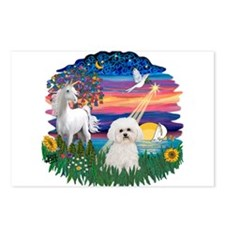 MagicalNight-Bichon#2 Postcards (Package of 8)