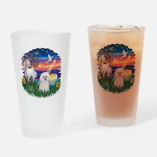 MagicalNight-Bichon#2 Drinking Glass