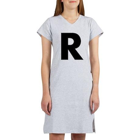 Letter R Women's Nightshirt