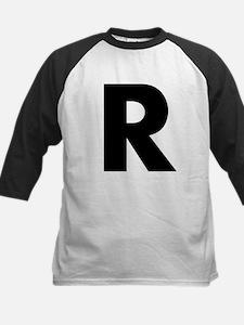 Letter R Kids Baseball Jersey