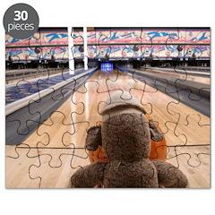 Ernie the Sock Monkey Bowling Puzzle