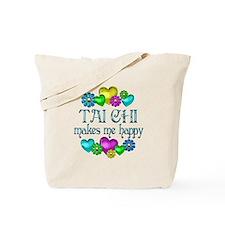 Tai Chi Happiness Tote Bag