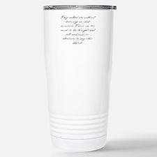 Pride and Prejudice - Too Muc Travel Mug