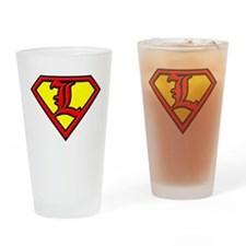 SuperCard Drinking Glass