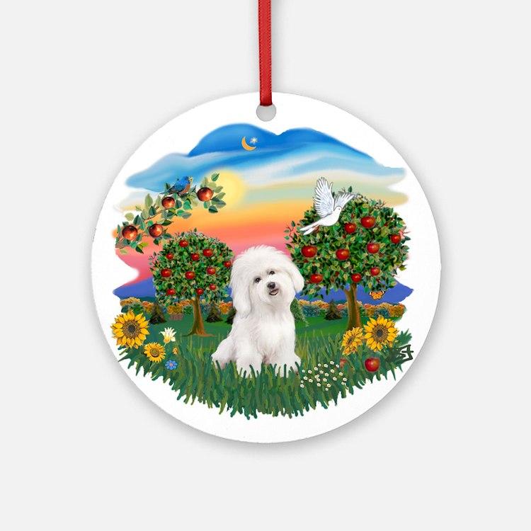 BrightCountry-Bichon#1 Ornament (Round)