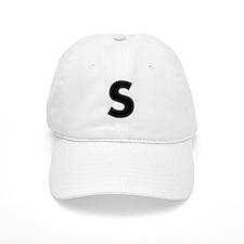 Letter S Baseball Cap