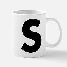 Letter S Mug