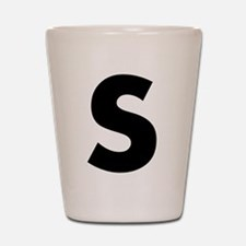 Letter S Shot Glass