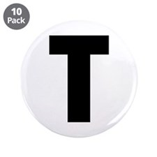 """Letter C 3.5"""" Button (10 pack)"""