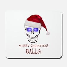 Merry Christmas Balls Mousepad
