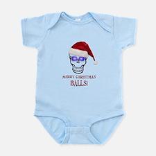 Merry Christmas Balls Infant Bodysuit