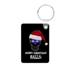 Merry Christmas Balls Keychains