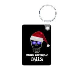 Merry Christmas Balls Keychains