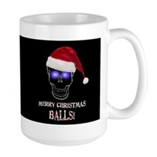 Merry Christmas Balls Mug