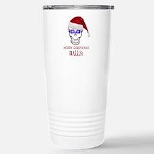 Merry Christmas Balls Stainless Steel Travel Mug