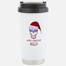 Merry Christmas Balls Travel Mug
