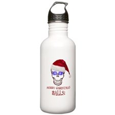 Merry Christmas Balls Water Bottle