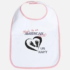Made by American Hero - Navy Bib