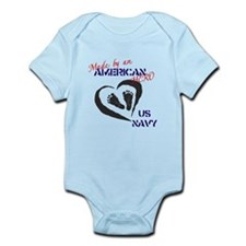 Made by American Hero - Navy Infant Bodysuit