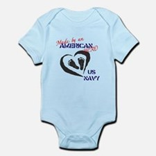 Made by American Hero - Navy Infant Bodysuit