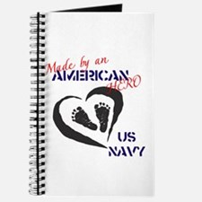 Made by American Hero - Navy Journal