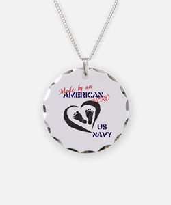 Made by American Hero - Navy Necklace