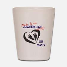 Made by American Hero - Navy Shot Glass