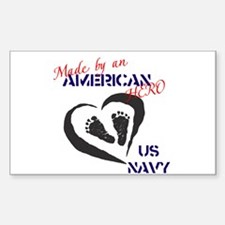 Made by American Hero - Navy Decal