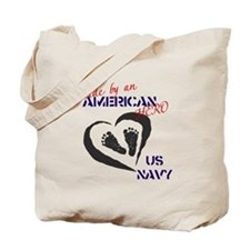 Made by American Hero - Navy Tote Bag