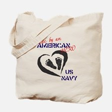 Made by American Hero - Navy Tote Bag