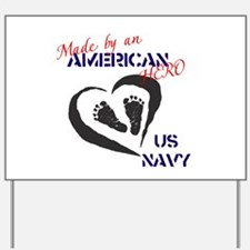 Made by American Hero - Navy Yard Sign