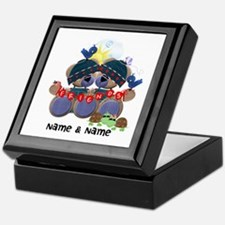 Customizable Bear Friends Keepsake Box