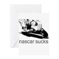 Valentino Rossi Motogp Nascar Greeting Card