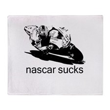 Valentino Rossi Motogp Nascar Throw Blanket