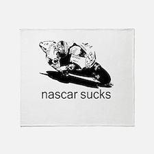 Valentino Rossi Motogp Nascar Throw Blanket