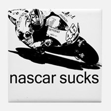 Valentino Rossi Motogp Nascar Tile Coaster
