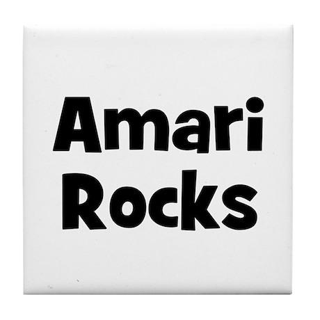Amari Rocks Tile Coaster
