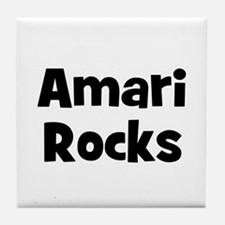 Amari Rocks Tile Coaster