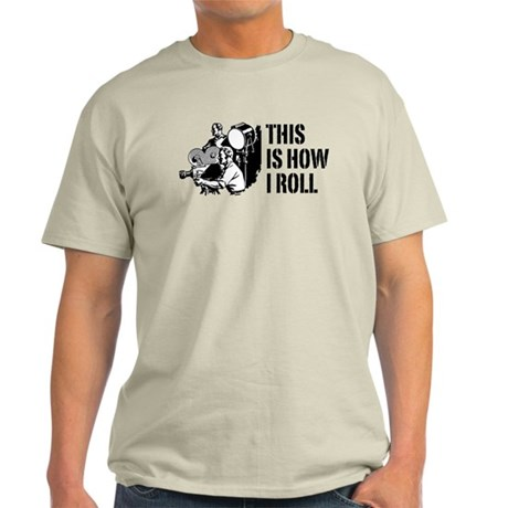 This Is How I Roll Film Light T-Shirt