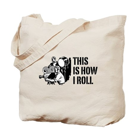 This Is How I Roll Film Tote Bag