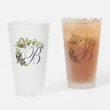 "Letter ""B"" Drinking Glass"