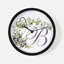 """Letter """"B"""" Wall Clock"""