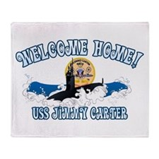 Welcome USS Carter! Throw Blanket