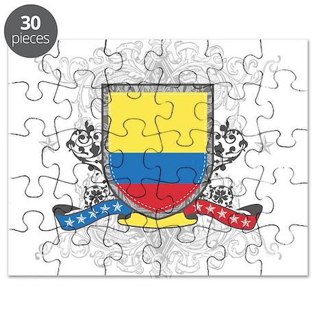 Colombia Shield Puzzle